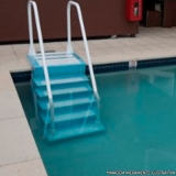 venda de escada para piscina de fibra Diamante